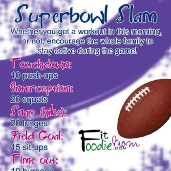 Superbowl Sunday Workout: Superbowl Slam