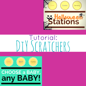DiY Scratchers with Freebie Template!