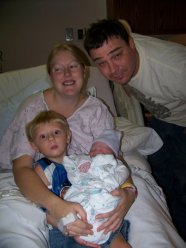 family logan birth pic