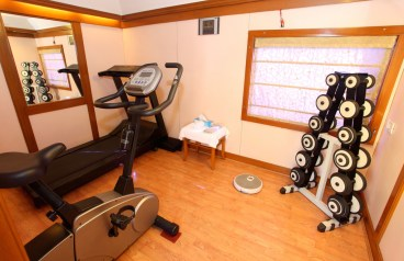 in home gym for moms