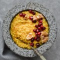 Carrot cake millet porridge (gluten free & vegan)