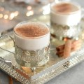 No egg vegan eggnog | classic #festive #cocktail #latte #veganeggnog #eggnog #dairyfree #sugarfree | via @fit.foodie.nutter | www.fitfoodienutter.com