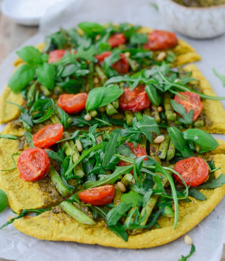 Two-ingredient healthy pizza base (Vegan, Gluten free) #vegan #glutenfree #pizza #veganpizza #glutenfreepizza #healthypizza #cleanrecipes
