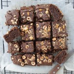 HEALTHIER VEGAN CHOCOLATE BROWNIES (GF, SUGAR FREE)
