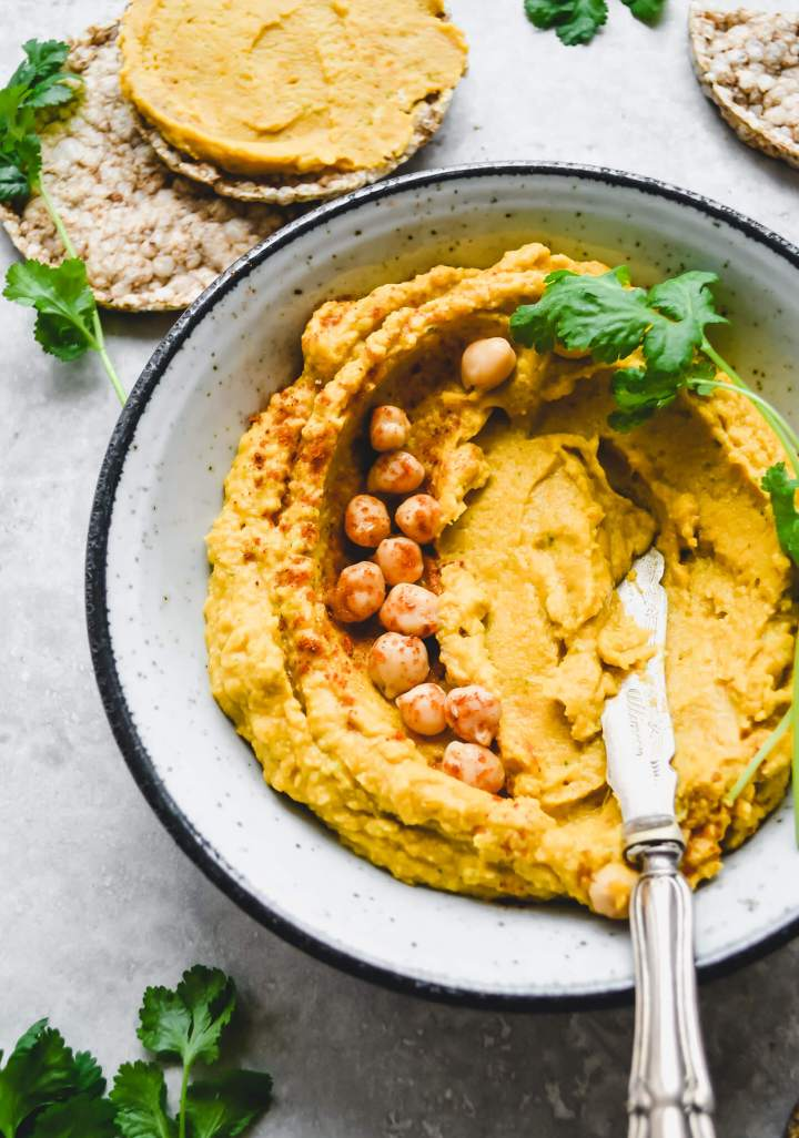 Butternut squash hummus – Fit Foodie Nutter