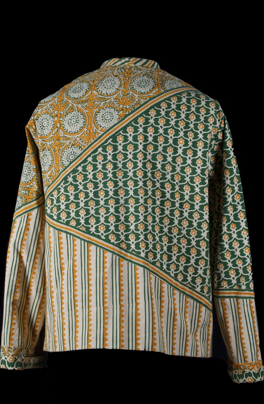 Handloom Batik Foundation Piecing (back)