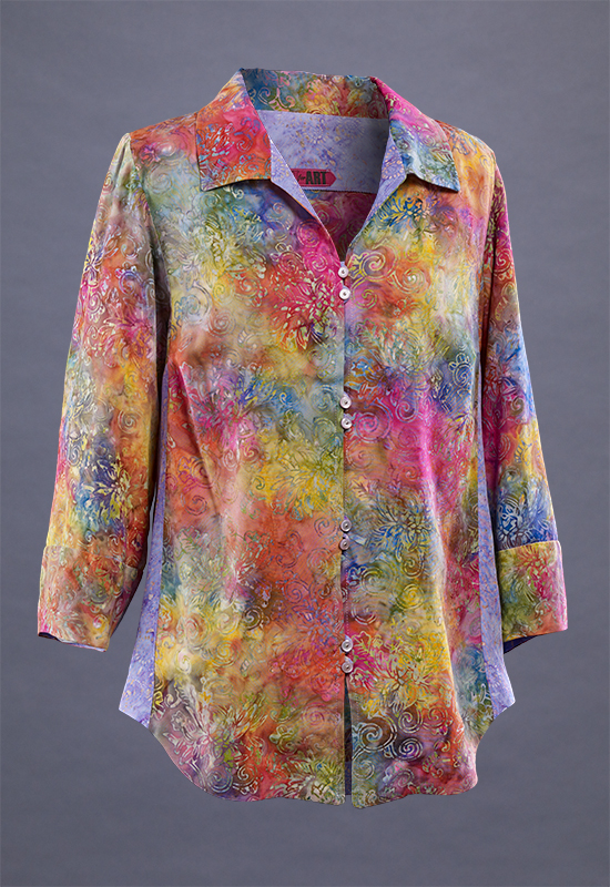 Rayon Fireworks Shirt