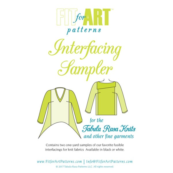 knit interfacing cover