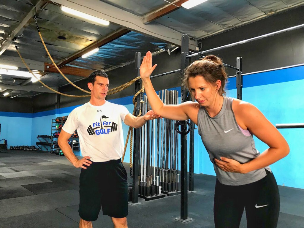 training mobility for golf
