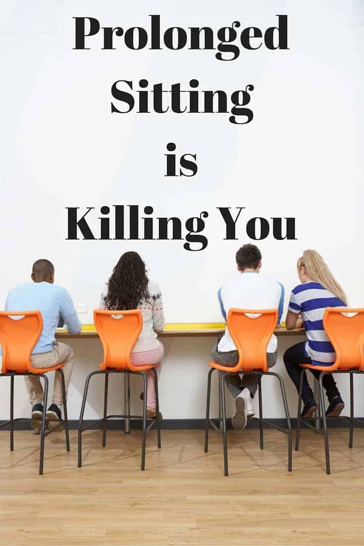 prolonged sitting
