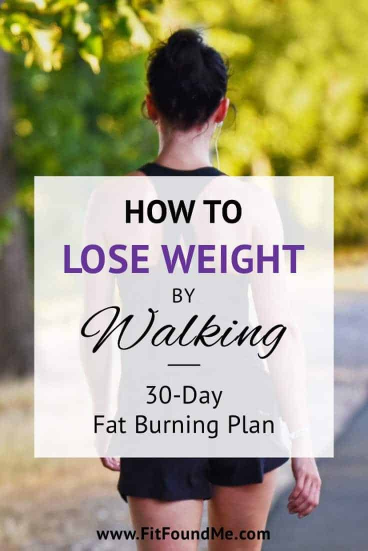 walking for weight loss plan