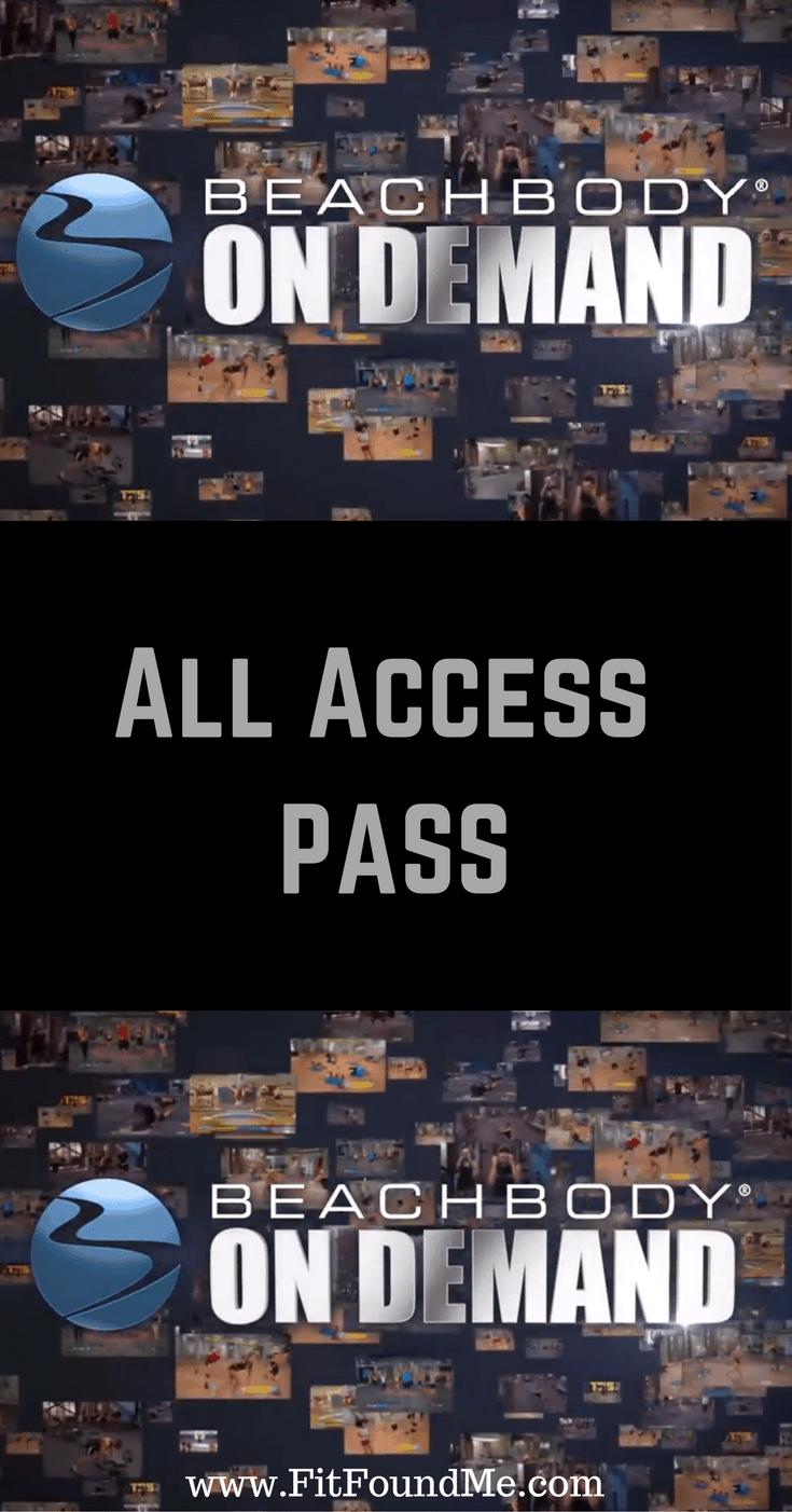 Beachbody all access pass