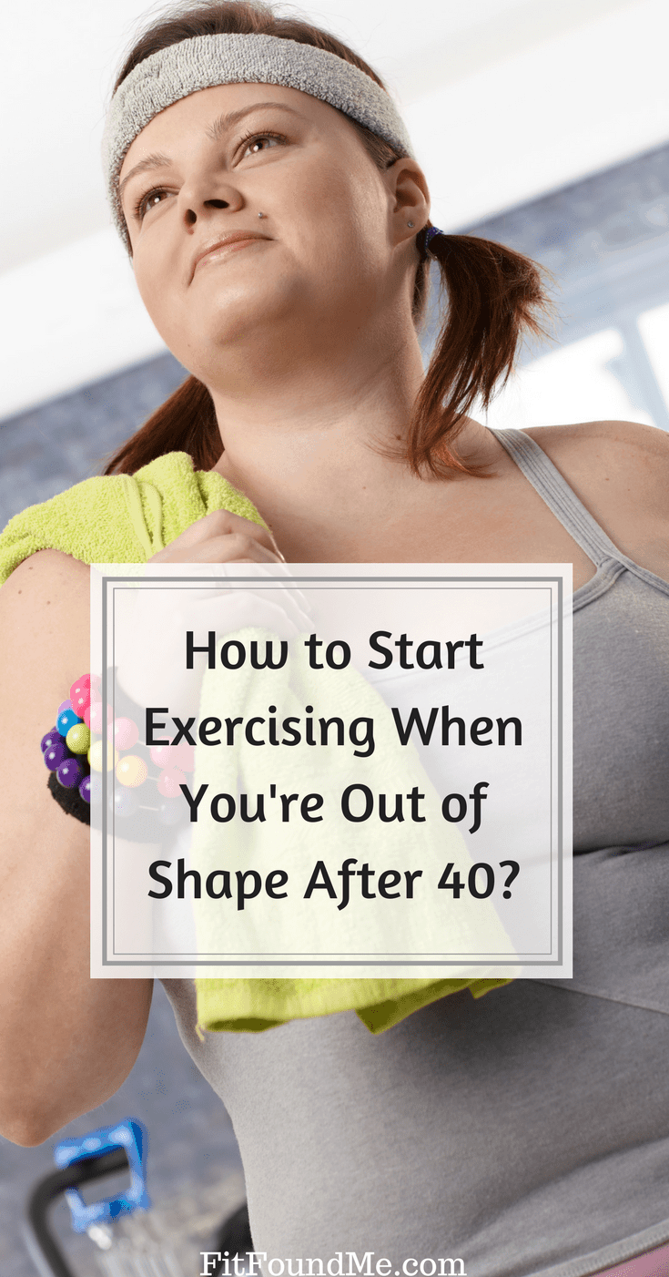 start exercising if you're out of shape woman