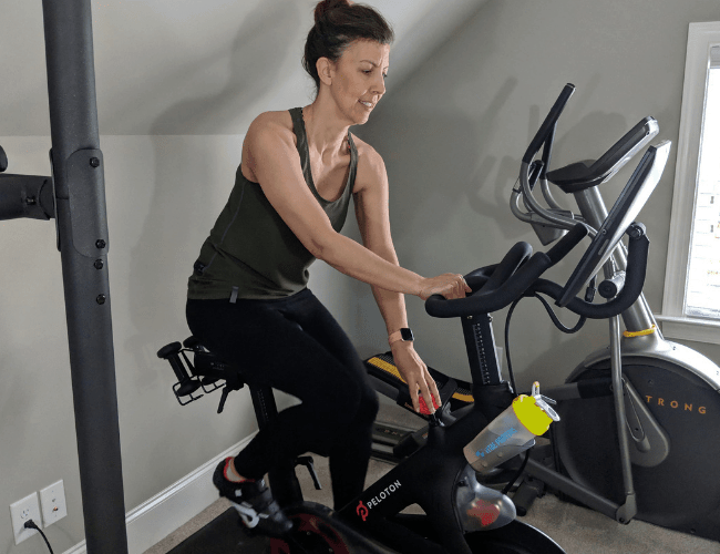 Peloton for cardio workouts for women over 40