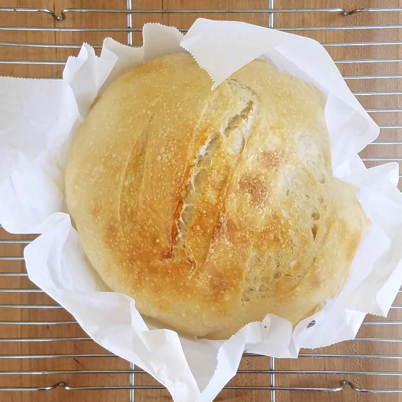 yeast free sourdough bread