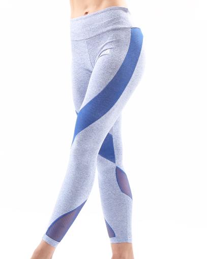 ocean blue seamless leggings