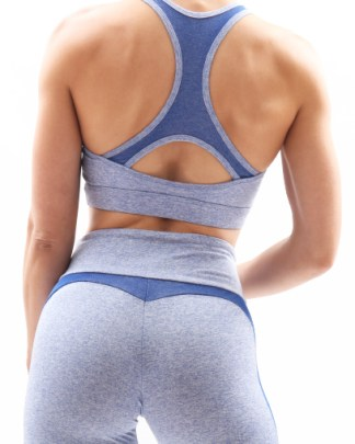 ocean blue seamless outfit