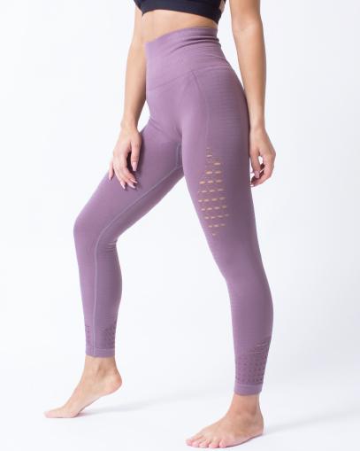 purple squat proof leggings