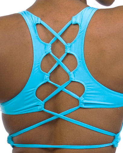 blue sports bras fitgal