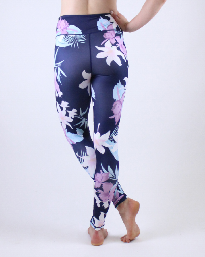 purple workout leggings fitgal