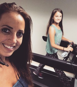 J and G working out