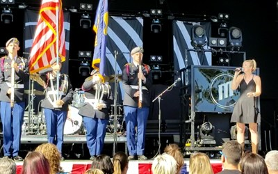 National Anthem At Old Dominion Concert
