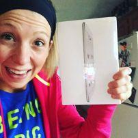 Free iPad courtesy of travel nursing :)