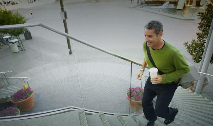 Fitbit: man rent trap op