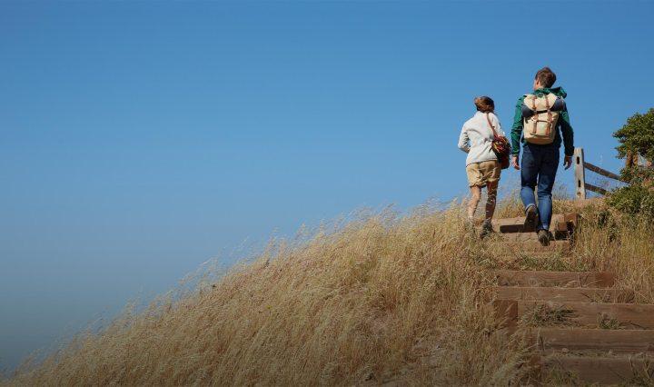 Wandelaars met Fitbit