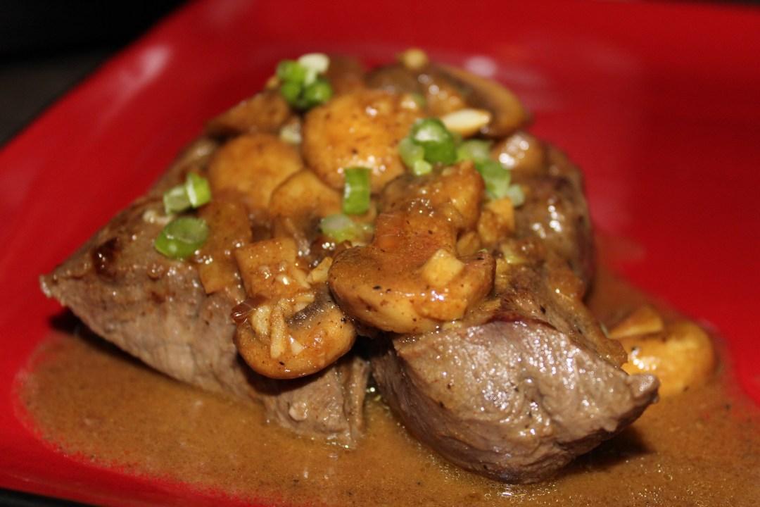 Paleo Steak Diane - a tasty, flavorful steak dinner