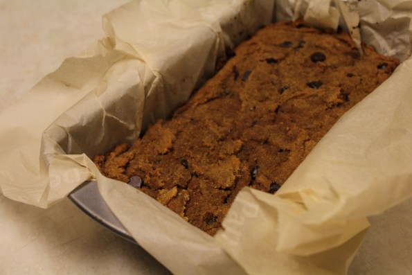 Paleo Chocolate-Chip Pumpkin Bread