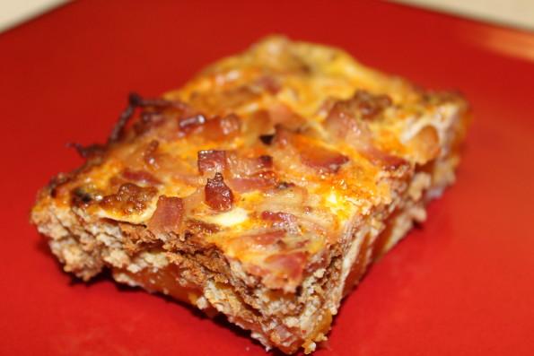 Bacon Chorizo Butternut Squash Breakfast Casserole - a super tasty, simple paleo breakfast casserole recipe