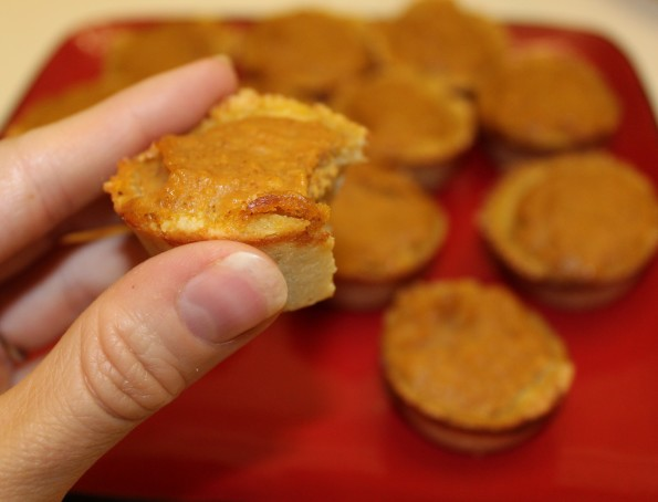 Mini Gluten Free Pumpkin Pies