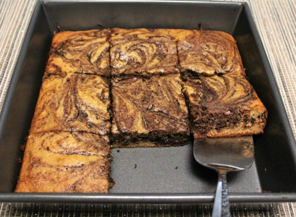 Paleo Cinammon and Chocolate Swirl Cake, so yummy!
