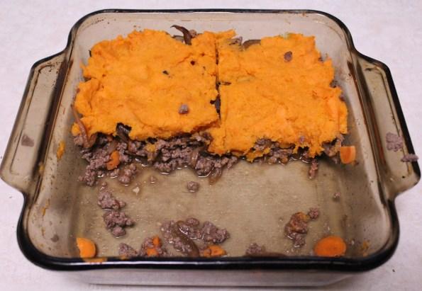 Sweet Potato Shepherd's Pie - a simple, tasty paleo meal