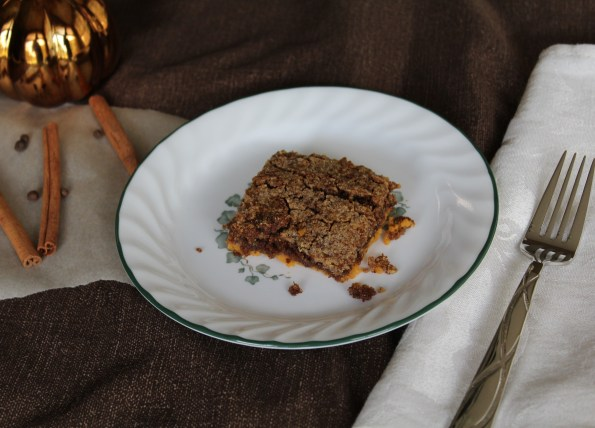 Paleo Pumpkin Pie Dump Cake. Simple, clean, and delicious!