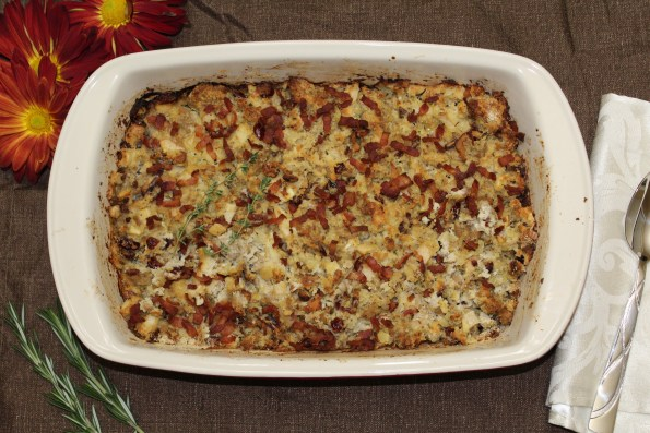 Paleo Thanksgiving Stuffing--Don't get your stuffing from a box! This gluten-free stuffing is full of delicious Thanksgiving flavor! A great tasting option made with real food.