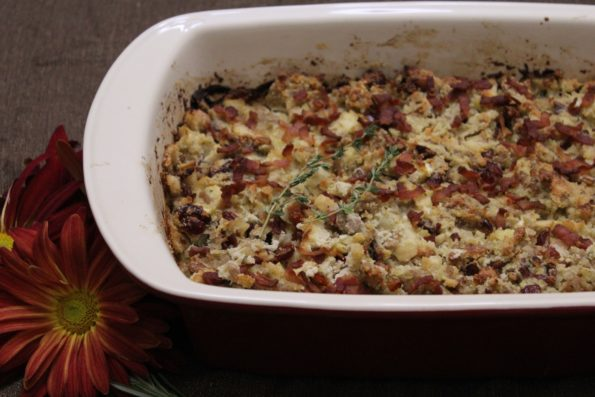 Paleo Thanksgiving Stuffing---Don't get your stuffing from a box! This gluten-free stuffing is full of delicious Thanksgiving flavor! A great tasting option made with real food.