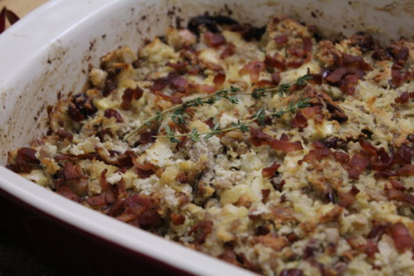 Don't get your stuffing from a box! This gluten-free stuffing is full of delicious Thanksgiving flavor! A great tasting option made with real food.
