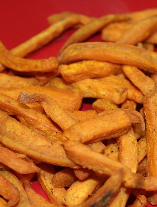 Sweet Potato Fries in the T-fal Actifry