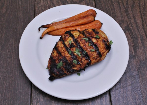 Paleo Spicy Maple Grilled Chicken - a delicious blend of sweet and spicy