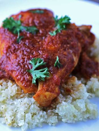 Tomato Balsamic Chicken - a simple, tasty paleo dish full of flavor