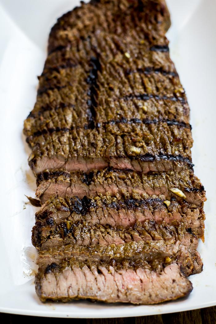 Easy Paleo Marinated Grilled Flank Steak