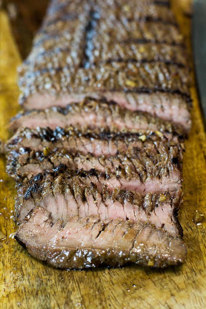Paleo Marinated Grilled Flank Steak