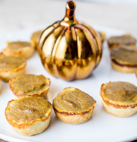 Mini Paleo Pumpkin Pie Bites
