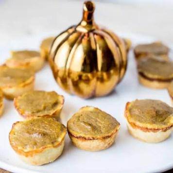 Mini Paleo Pumpkin Pie Bites