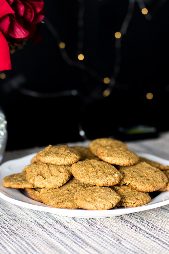 paleo ginger spice cookies