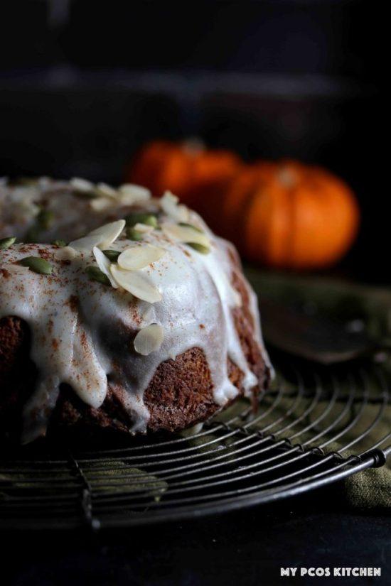 KETO PALEO PUMPKIN BUNDT CAKE RECIPE