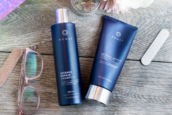 Monat Intense Repair shampoo and conditioner
