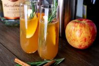 Paleo Fall Harvest Cocktail with Apple